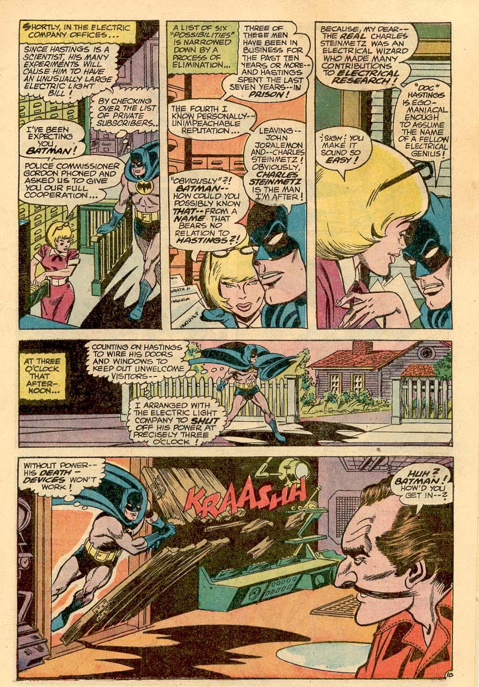 Detective Comics (1937) 367 Page 12