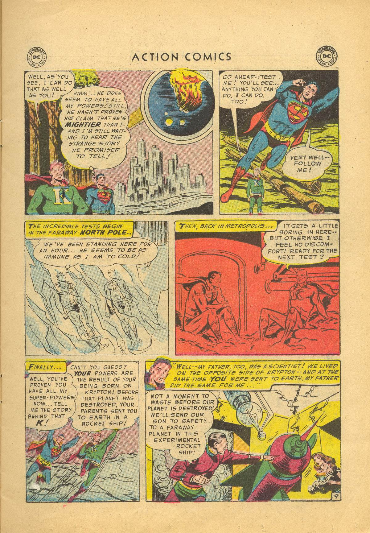 Read online Action Comics (1938) comic -  Issue #209 - 11