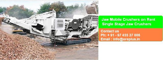 Mobile Crusher Rental Service Providers in India