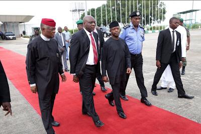Photos: VP Osinbajo Leaves Abuja For Maiduguri