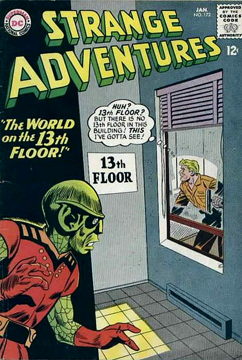 Strange Adventures (1950) issue 172 - Page 1