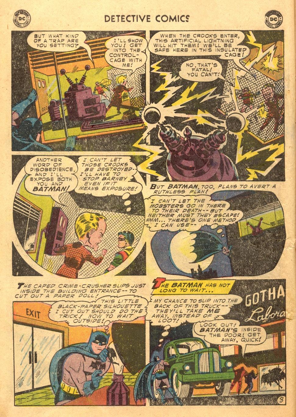 Detective Comics (1937) 217 Page 9