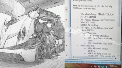 Siêu xe Pagani Huayra về Việt Nam với giá 78 tỷ đồng