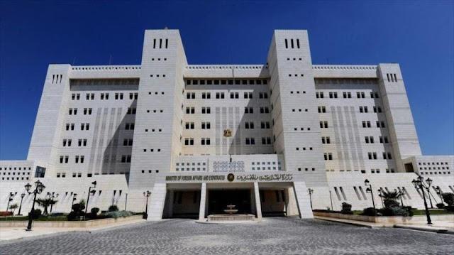 Siria urge a ONU a tomar medidas para impedir ataques israelíes