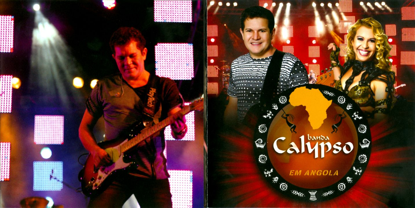dvd banda calypso em angola