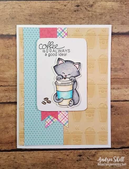 Coffee Card featuring Newton Loves Coffee by Newton's Nook Designs, #newtonsnook