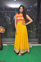 Pujitha in Yellow Ethnic Salawr Suit Stunning Beauty Darshakudu Movie actress Pujitha at a saree store Launch ~ Celebrities Galleries 008.jpg