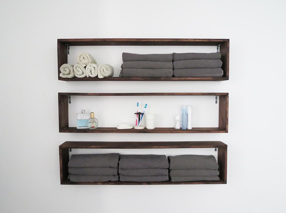 Easy DIY shelves - Ohoh deco