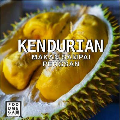 Durian Buffet Feast  At Selangor Food Mega Festival 2017 ~ Dataran Kemerdekaan Shah Alam