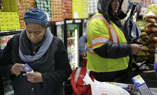 Food Stamp Use Falls to Lowest Level in Seven Years
