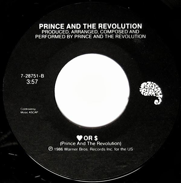 PAISLEY PARK US DISCOGRAPHY: PRINCE AND THE REVOLUTION ...
