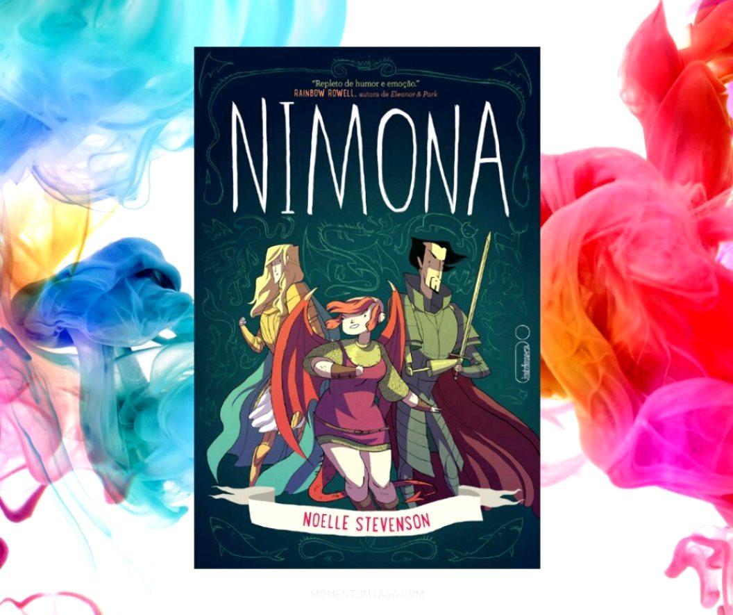Resenha: Nimona, de Noelle Stevenson