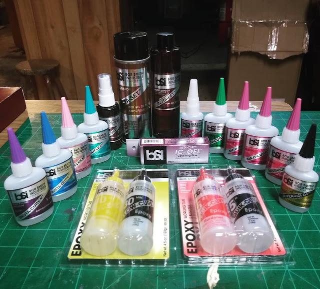 BSI Insta-Cure - BSI Epoxy - Super Glue - CA Glues - Insta-set - BSI Adhesives