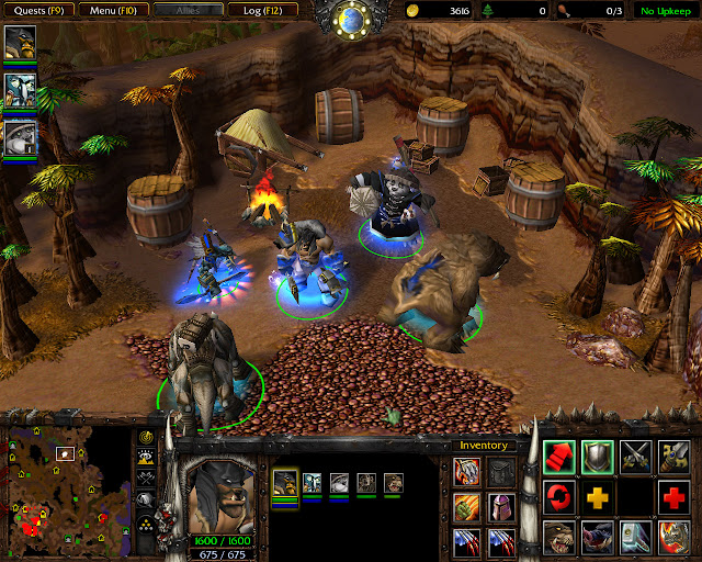 Full Party Screenshot  | The Founding of Durotar | Warcraft 3: The Frozen Throne