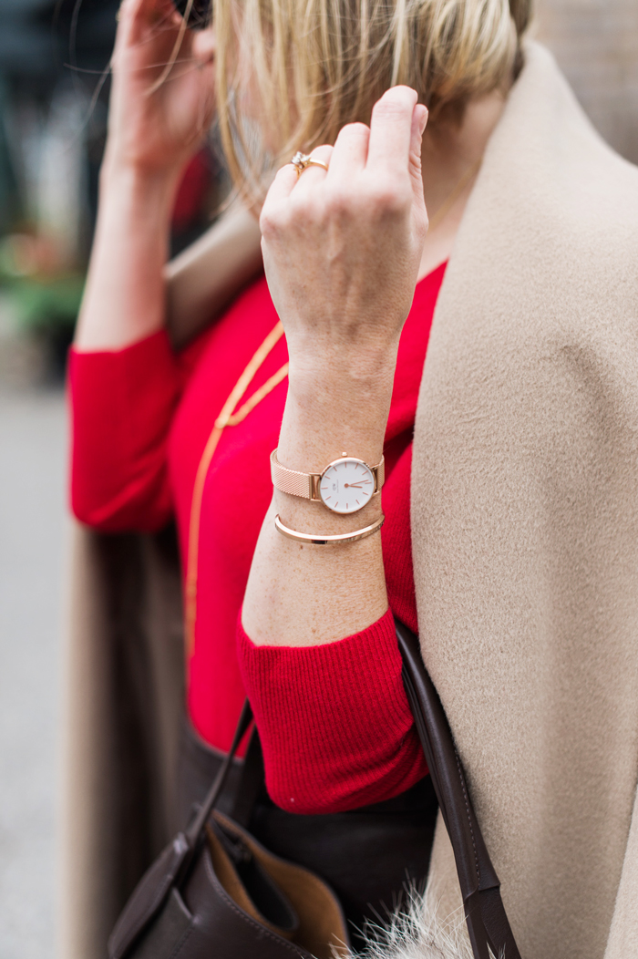 Daniel Wellington Petite Melrose Rose Gold