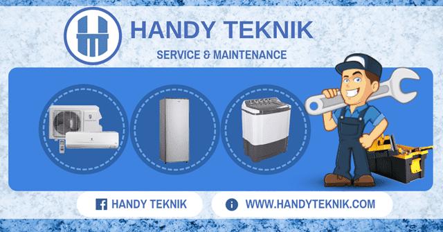 Cuci AC - Handy Teknik