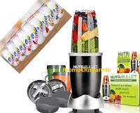 Logo ''Shakera la tua giornata con Actimel'' e vinci subito 92 estrattori Nutribullet