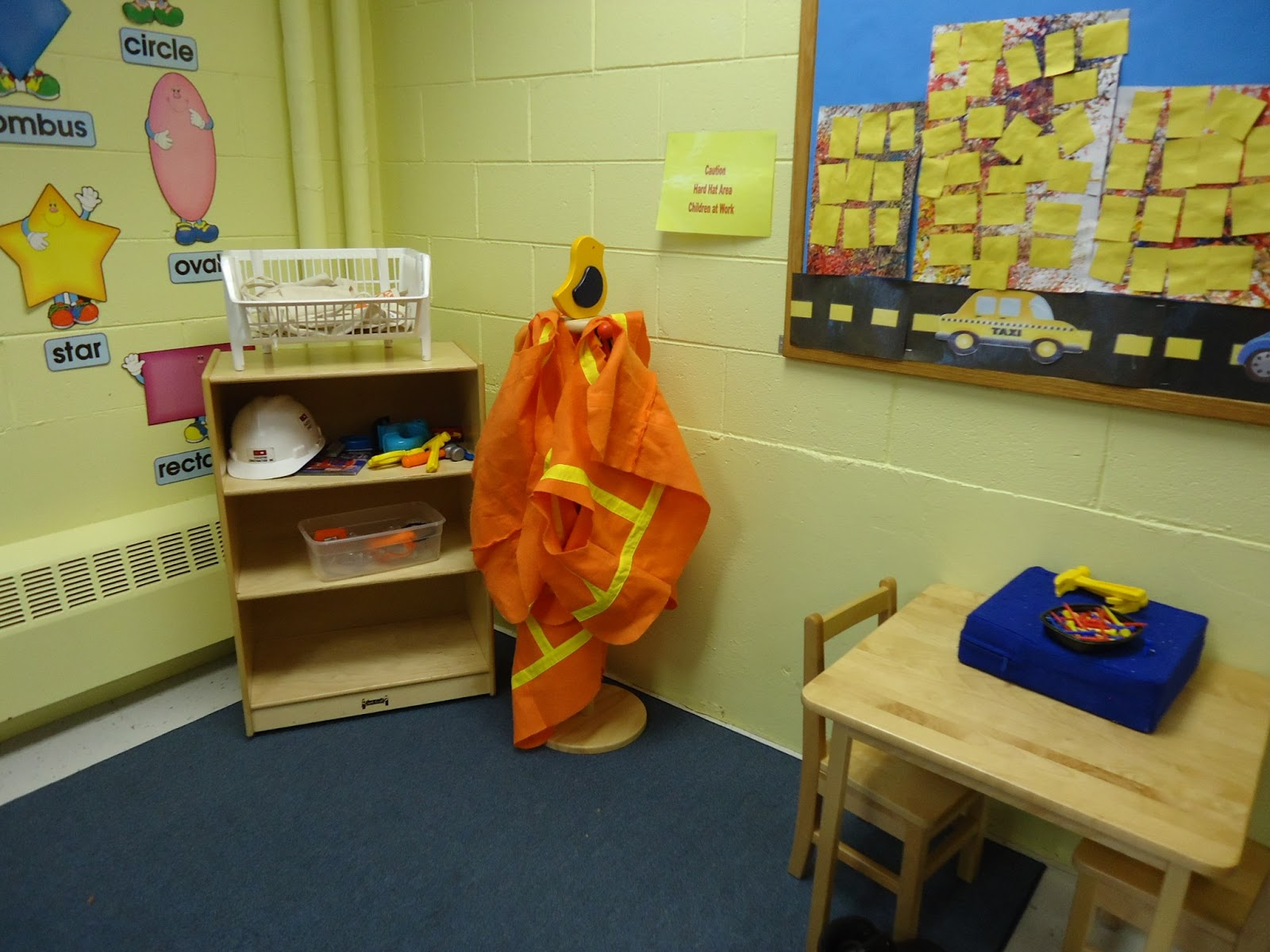 Trinity Preschool Mount Prospect Construction Theme Dramatic Play