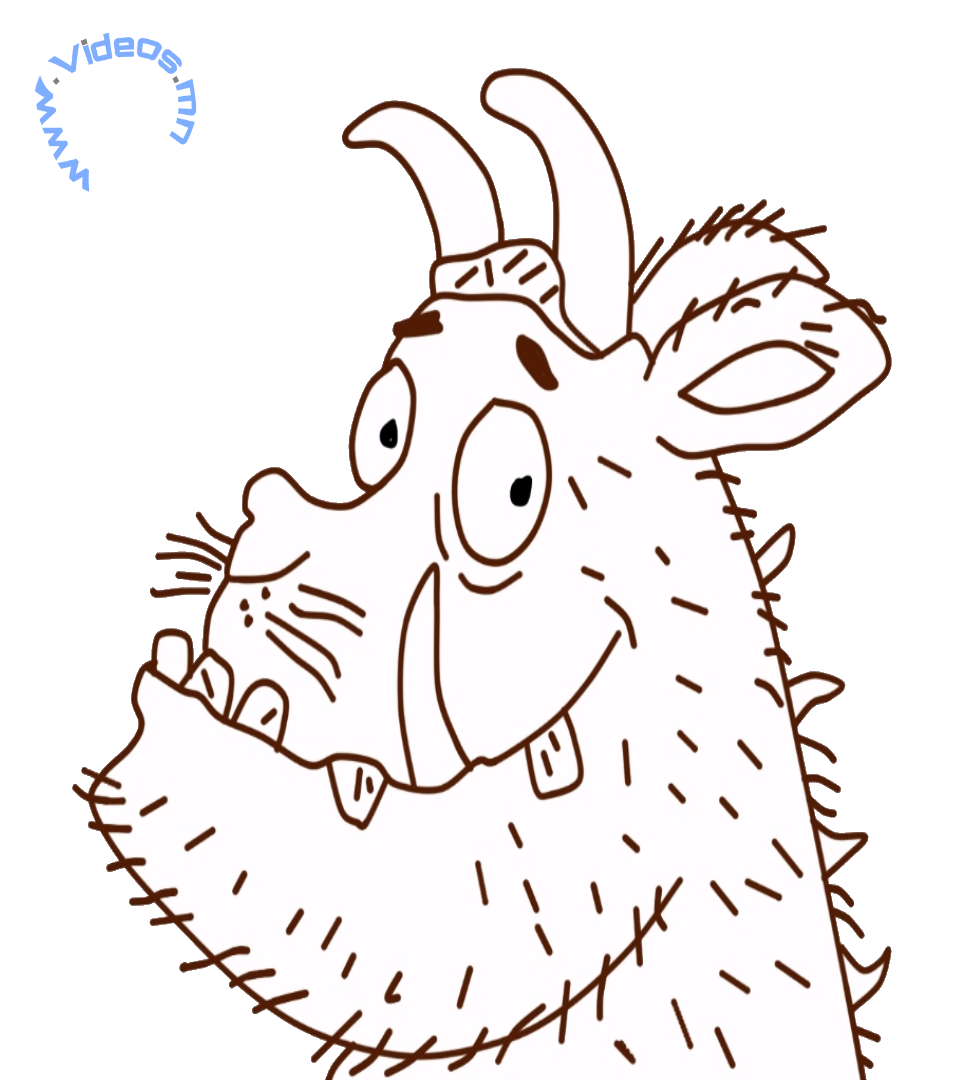 Gruffalo Colouring Pages