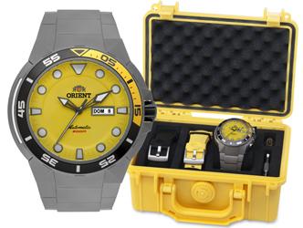 dc2472a32ec Relógio Orient Masculino Seatech Automático 469ti003 Titânio