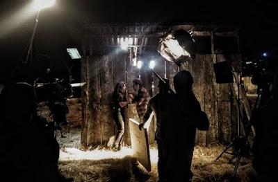 Juliana Paes e Marcos Palmeira em cena como Maria da Paz e Amadeu, de 'A Dona do Pedaço' — Foto: Leonardo Santos