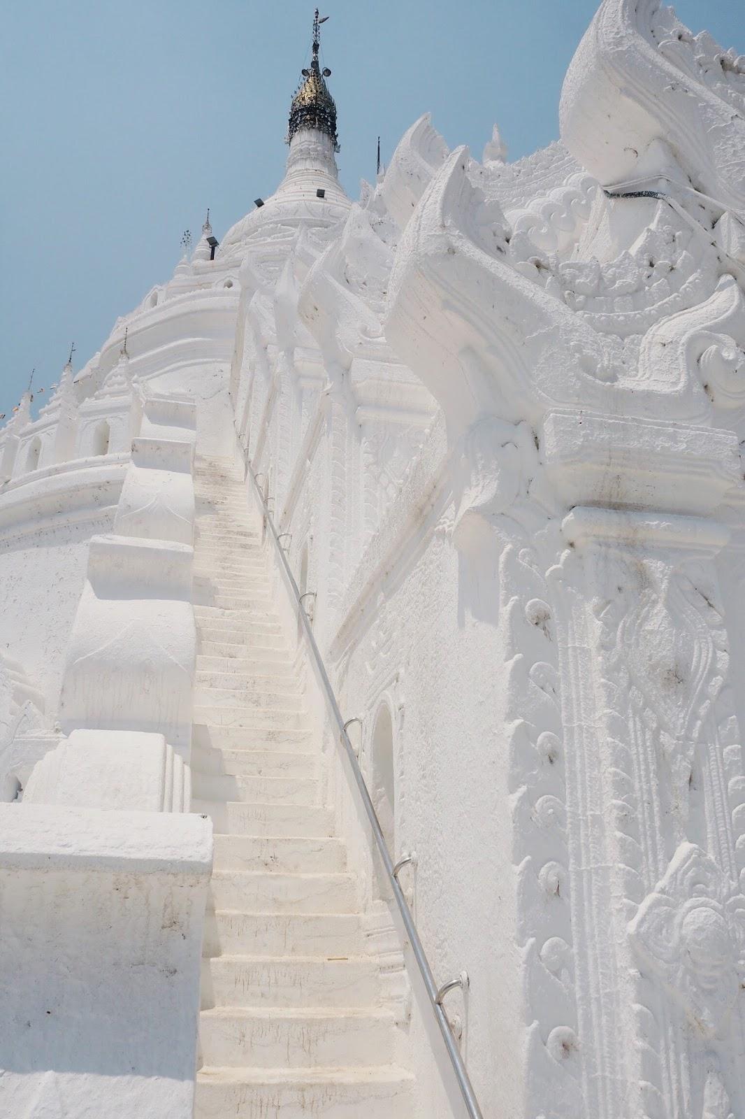 Hsinbyume Pagoda upclose