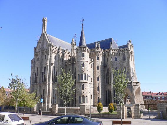 Palacio episcopal de Astorga. Leon. Gaudi en España