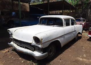 Bahan Chevrolet Belair 1956 Surat Komplit Pajak Tertib