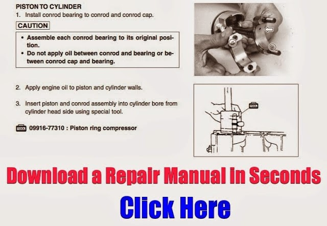 DOWNLOAD OUTBOARD REPAIR MANUAL INSTANTLY: January 2016