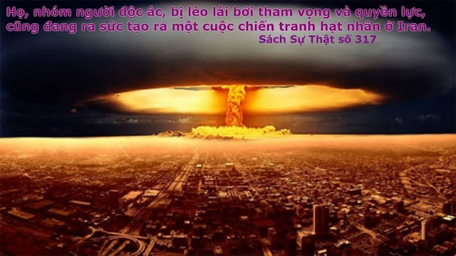 Thiên Chúa Cha: Chính để cứu những linh hồn vô tội bị tàn phá bởi những kẻ lừa dối, mà Ta trừng phạt những kẻ độc ác