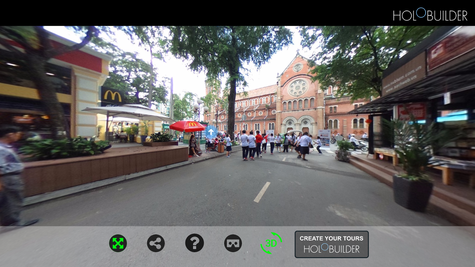 Cách xem ảnh 360 độ panorama