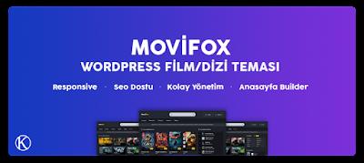 Keremiya Movifox WordPress Yabancı Dizi Teması