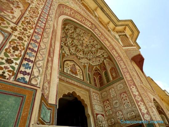 Detalle de la Puerta de Ganesha Pol