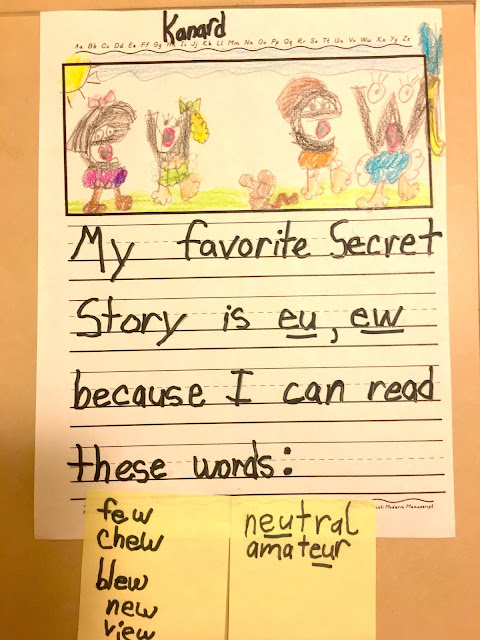 Secret Stories Phonics Secret EU EW