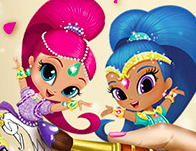 العاب بنات تلبيس ومكياج وقص الشعر ومناكير وتنظيف الوجه للعرائس