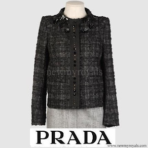 Princess Mette-Marit wore PRADA wool jacket