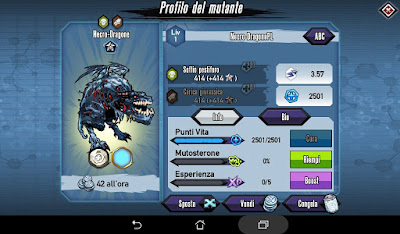 Mutants: Genetic Gladiators video N°358 Fusion Undead Dragon - Fusione Necro Dragone