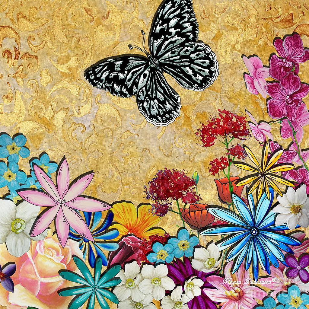 de estados unidos y obsesionada por las mariposas y las flores de dimensiones mayores aqu algunas de sus pinturas ms viralizadas en la internet
