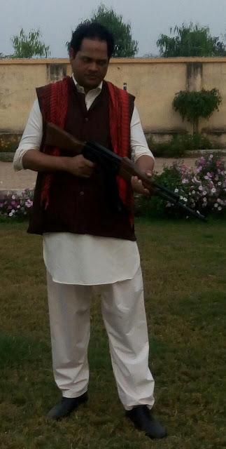 Actor Yadavendra Yadav