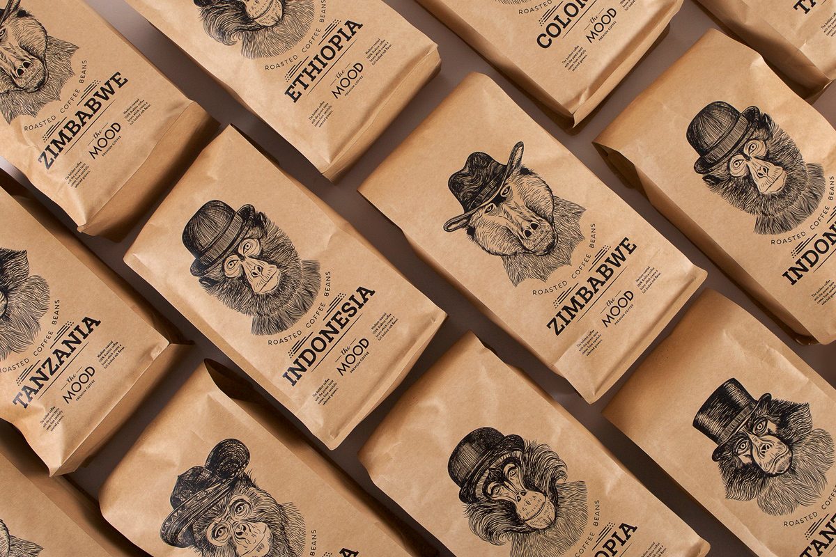 """In """"The Mood"""" for Coffee on Packaging of the World ..."""
