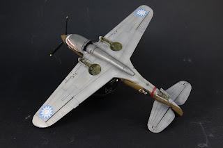 Le jus du montage du Curtiss P-40B
