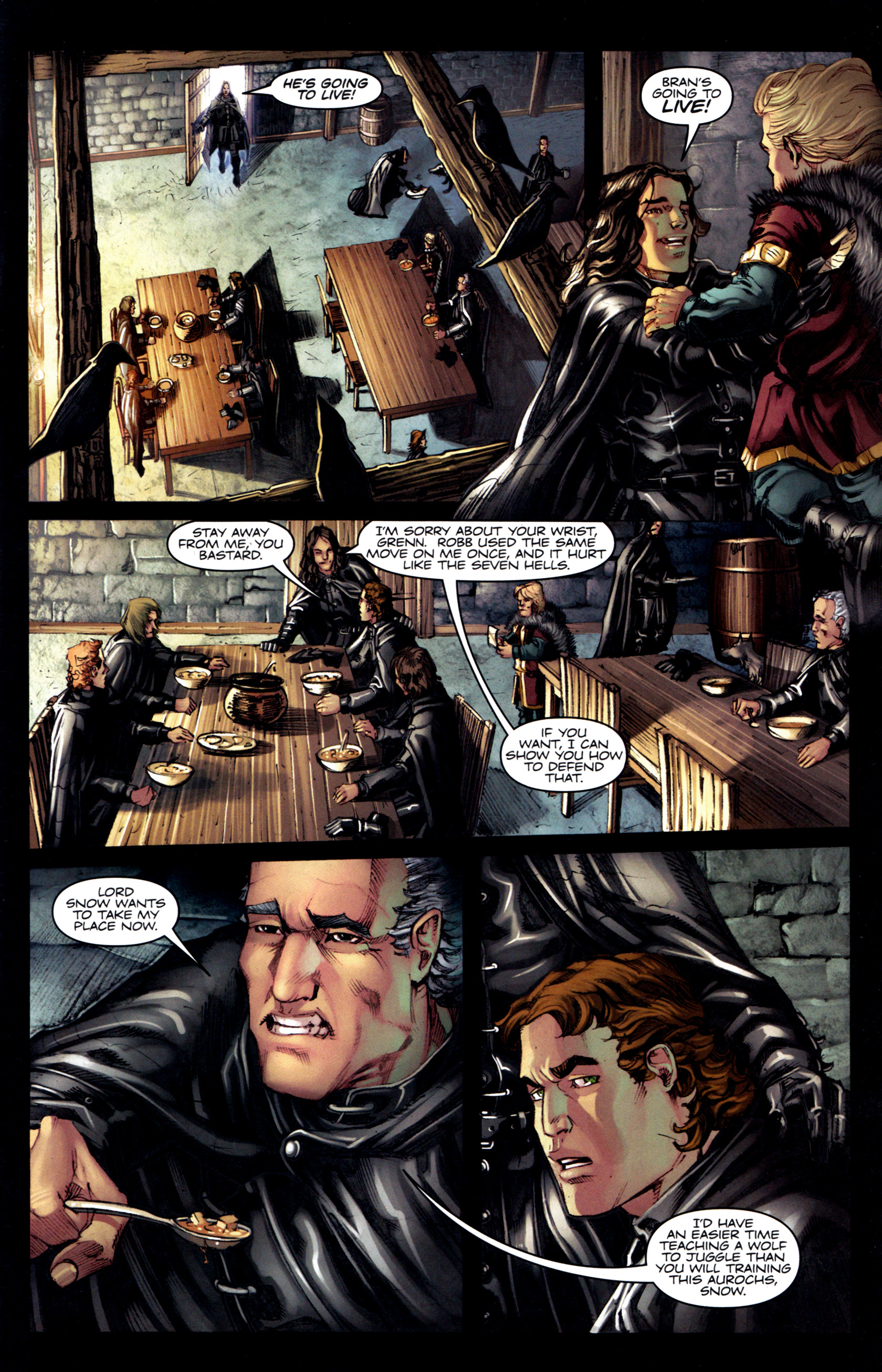 Read online A Game Of Thrones comic -  Issue #6 - 11