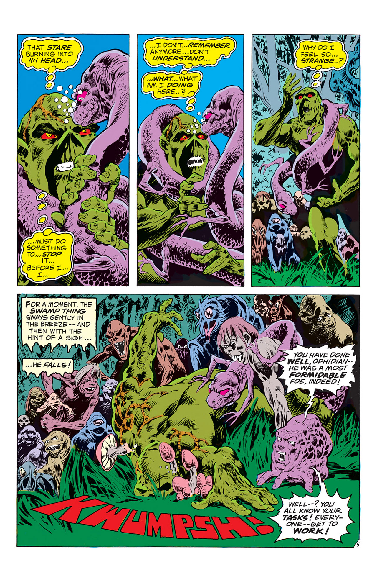 Swamp Thing (1972) Issue #2 #2 - English 6