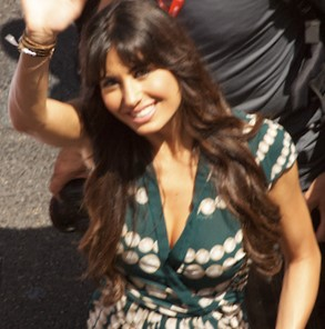 Briatore's wife, the former model Elisabetta Gregoraci
