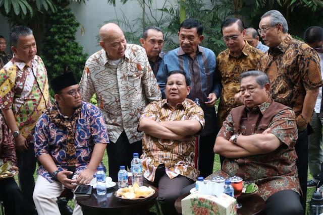 SBY Ungkap Hasil Survei Internal Demokrat untuk Prabowo di Jatim