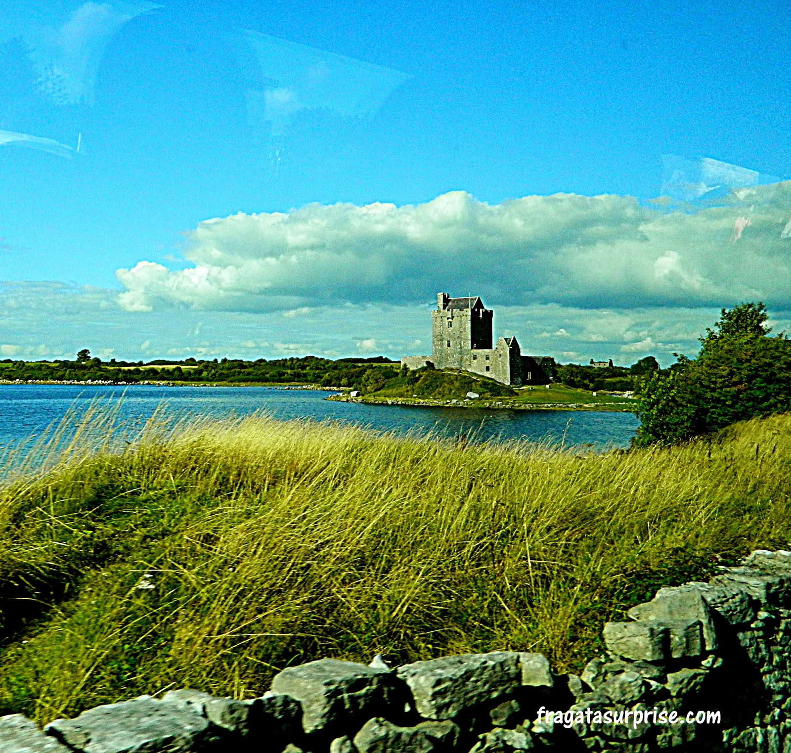 Castelo medieval na Irlanda