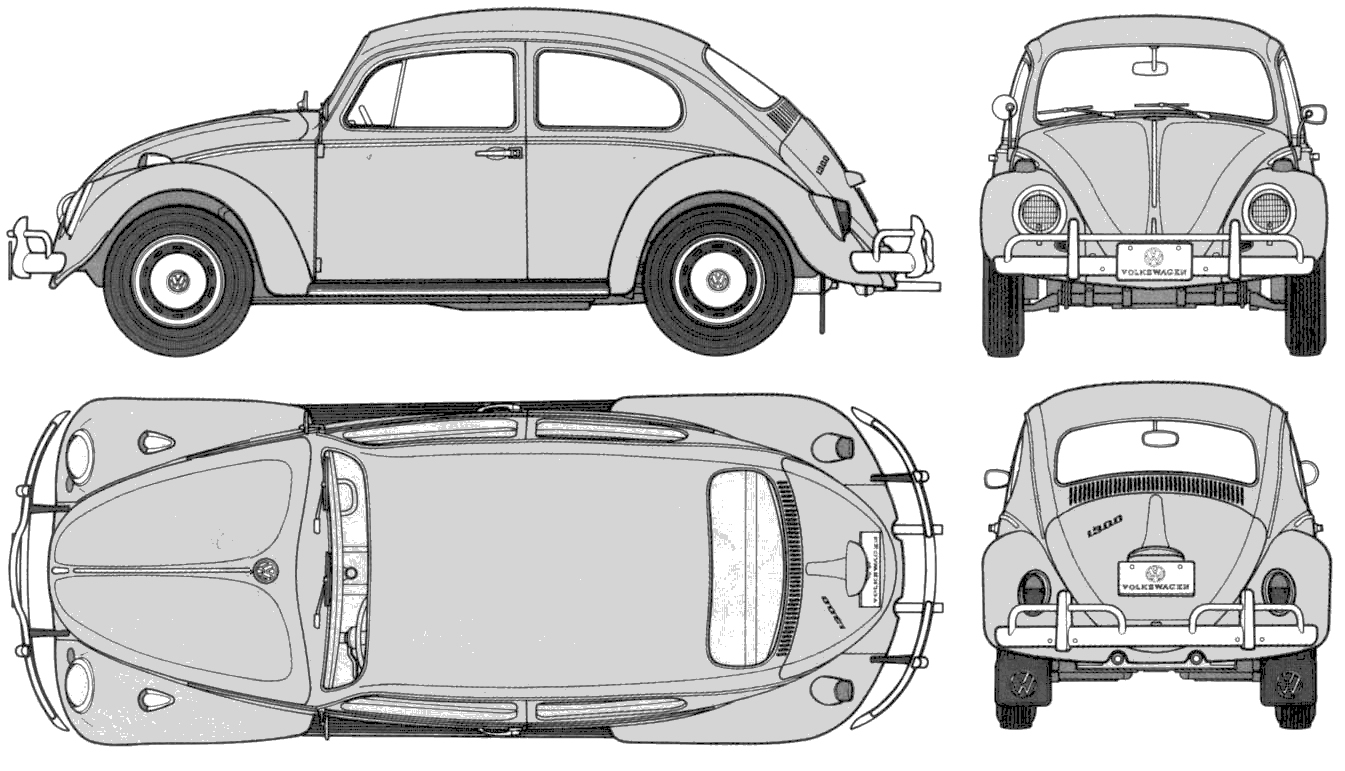 Ciudad Terminus Volkswagen Beetle