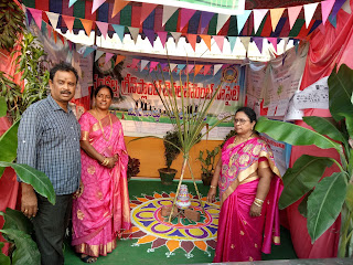 Awareness Show with Puppets on the occassion of Sankranthi 2018