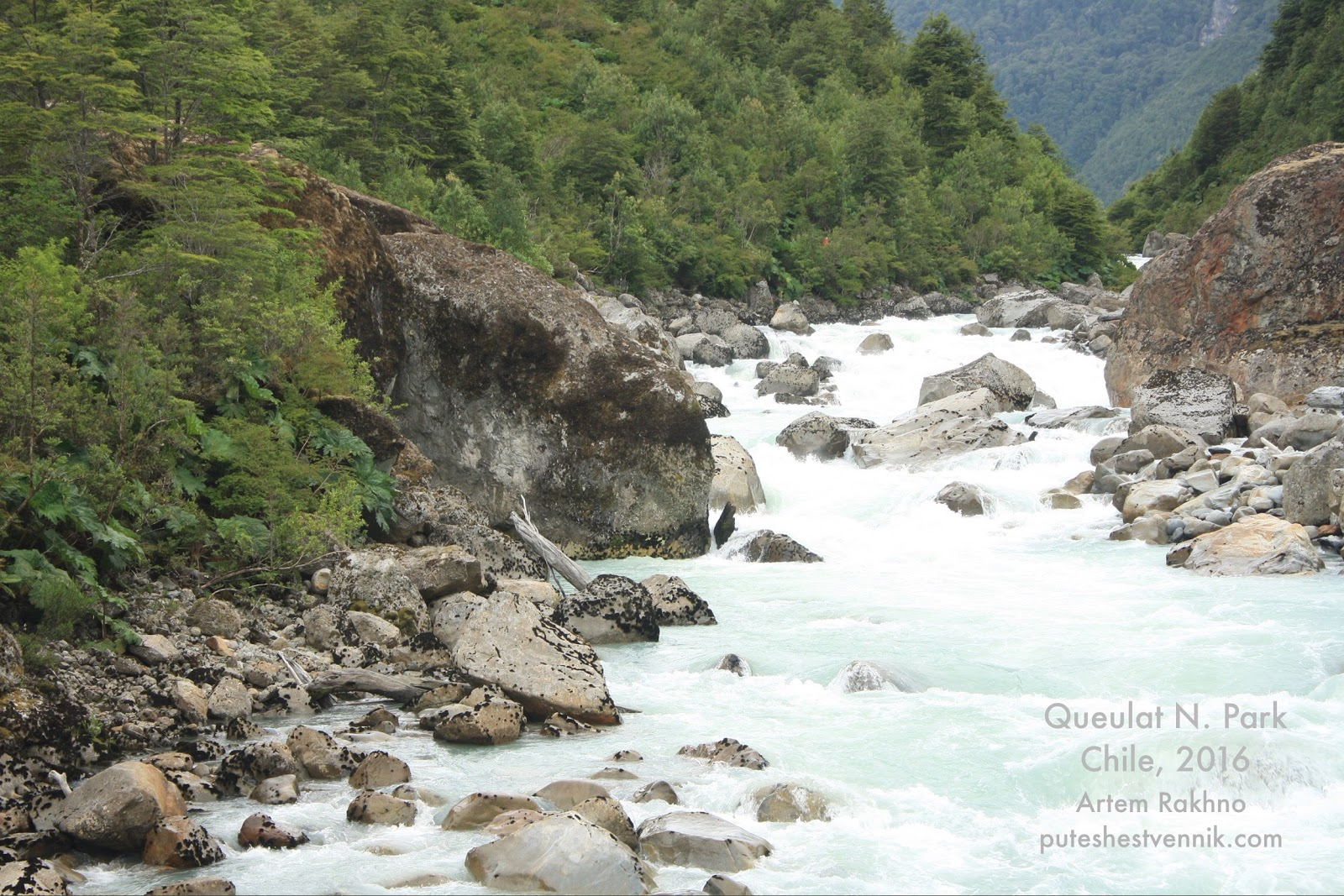 Река в национальном парке Келат