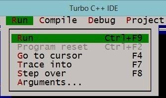 Run a C program in Turbo C
